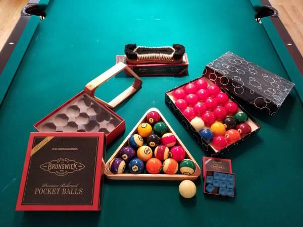 Solo 174 San Jose Bruswick 9 Ft Pool Table 95