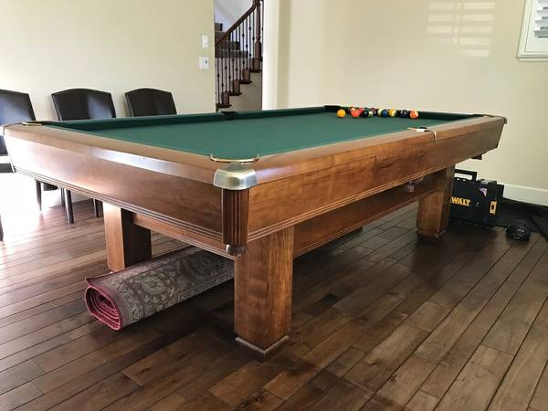 Pool Tables For Sale In San Jose San Jose Pool Table Movers - Brunswick chateau pool table