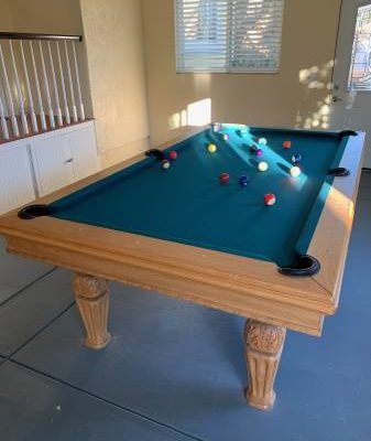 Pool Table, Billiard