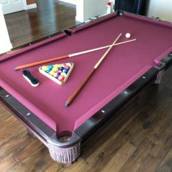 Solo 174 Fremont Bradford Ii Pool Table By Brunswick 51