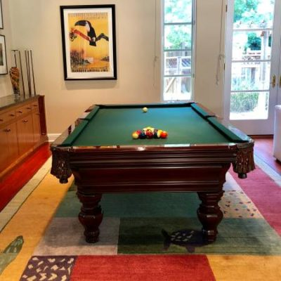 Pool Table by Charles A. Porter for Sale