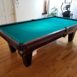 Brunswick 9 ft Pool Table