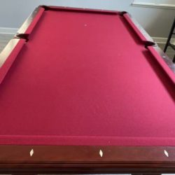 8Ft Mohogany Pool Table with all Accessories (SOLD)