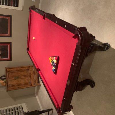 8 foot Slate DLT Pool Table for Sale. Excellent Condition